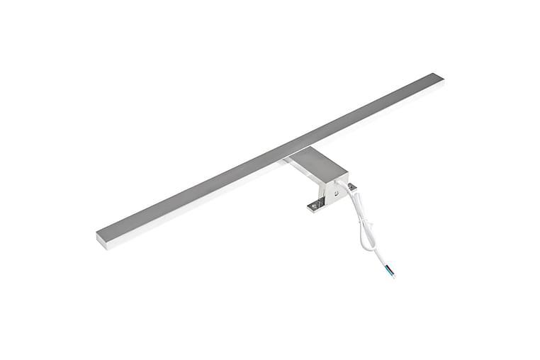 Spegellampor 4 st 8 W kallvitt - Silver - Belysning - Badrumsbelysning - Badrumslampa tak