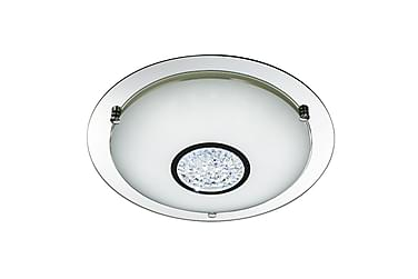 Bathroom Flush LED Spegel/Krom