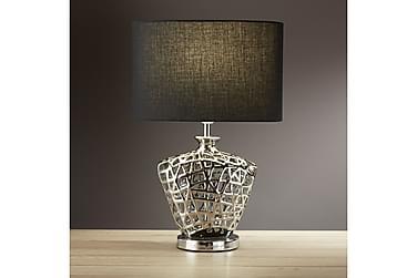 Bordslampa 30 cm Krom/Blank