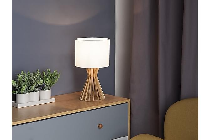 Bordslampa Carrion 27 cm - Vit - Belysning - Inomhusbelysning & Lampor - Bordslampa