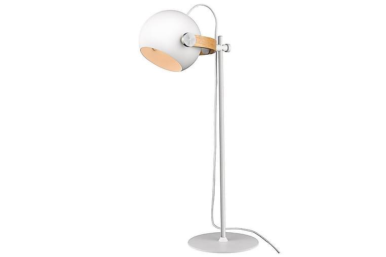 Bordslampa D.C Vit/Ek - Halo Design - Belysning - Inomhusbelysning & Lampor - Bordslampa