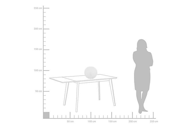 Bordslampa Finke 30 cm - Vit - Belysning - Inomhusbelysning & Lampor - Bordslampa