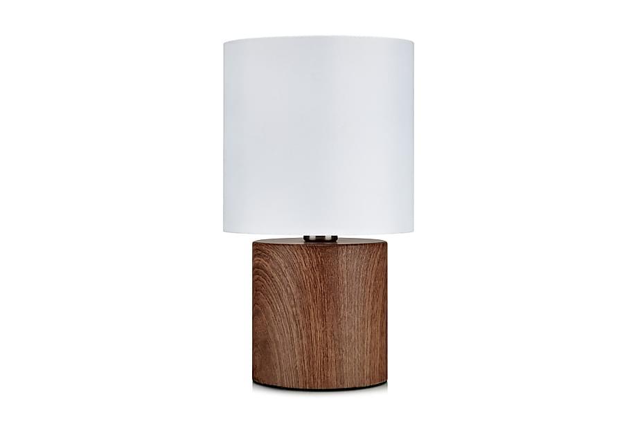 Bordslampa Gothia Valnöt/Vit