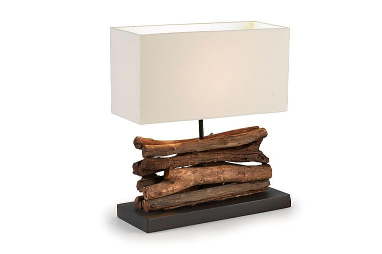 Bordslampa Iahas 35/15 cm - Natur|Vit - Belysning - Inomhusbelysning & Lampor - Bordslampa