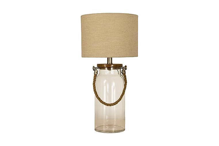 Bordslampa Koj Glas/Natur - Aneta - Belysning - Inomhusbelysning & Lampor - Bordslampa