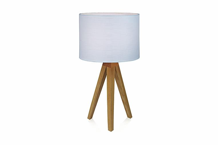 Bordslampa Kullen 22,5 cm Ek/Vit - Markslöjd - Belysning - Inomhusbelysning & Lampor - Bordslampa