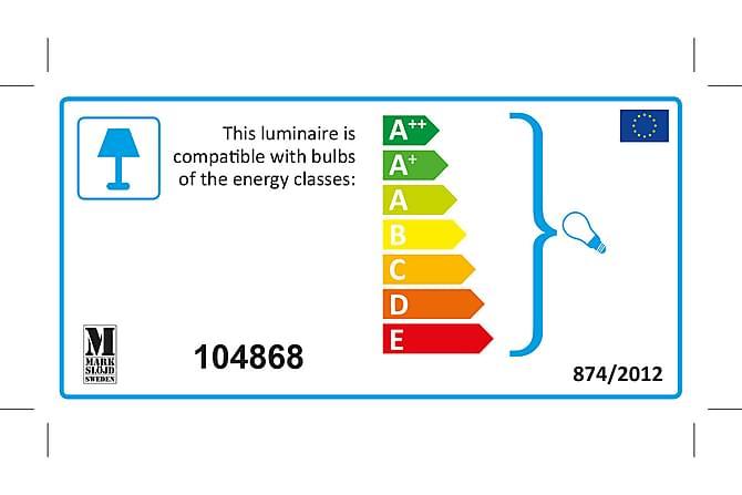 Bordslampa Kullen 28 cm Ek/Vit - Markslöjd - Belysning - Inomhusbelysning & Lampor - Bordslampa