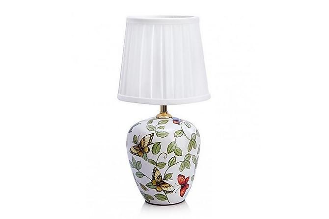 Bordslampa Mansion Mönstrad/Vit - Markslöjd - Belysning - Inomhusbelysning & Lampor - Bordslampa