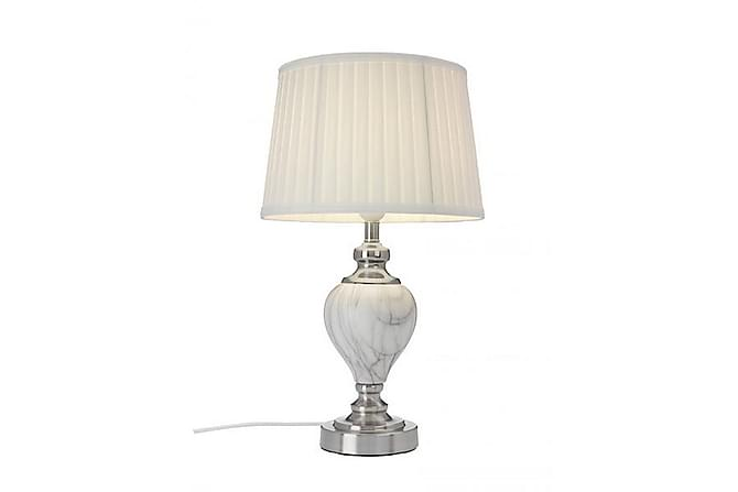 Bordslampa Miss Marble 51 cm Vit - Cottex - Belysning - Inomhusbelysning & Lampor - Bordslampa