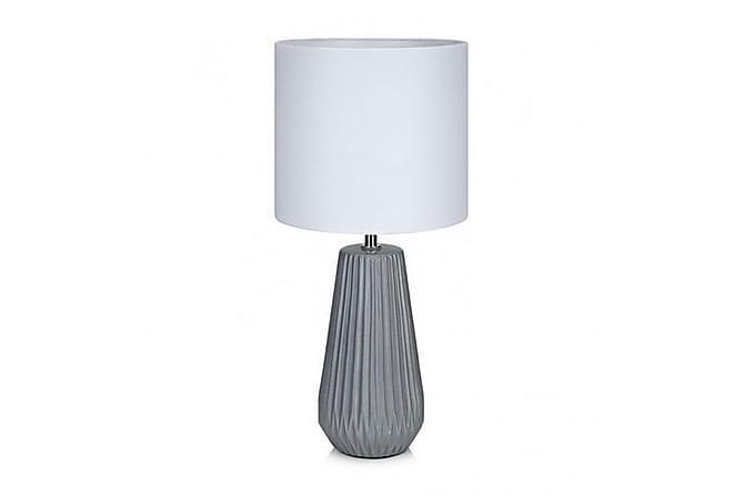 Bordslampa Nicci Grå/Vit - Markslöjd - Belysning - Inomhusbelysning & Lampor - Bordslampa