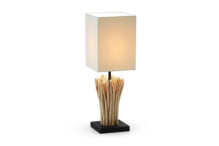 Bordslampa Poob 15/15 cm - Natur|Vit - Belysning - Inomhusbelysning & Lampor - Bordslampa