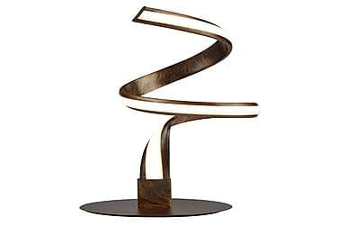 Bordslampa Ribbon 22 cm LED Dimbar Beige/Brun