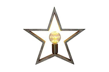 Bordslampa Stjärna Stjärna Trä
