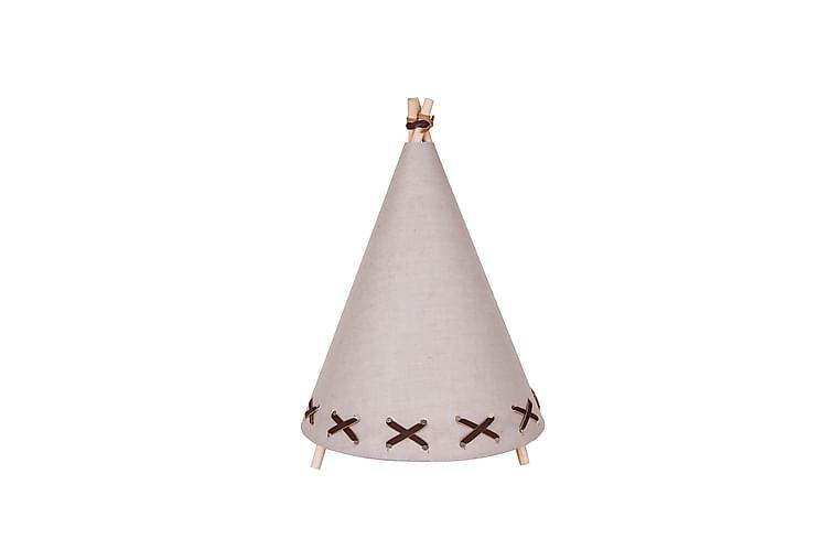 Bordslampa Tipi Beige/Brun - Globen Lighting - Belysning - Inomhusbelysning & Lampor - Bordslampa