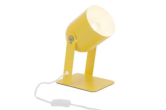 Bordslampa Yvona Dimbar 18,2 cm - Gul - Belysning - Inomhusbelysning & Lampor - Bordslampa