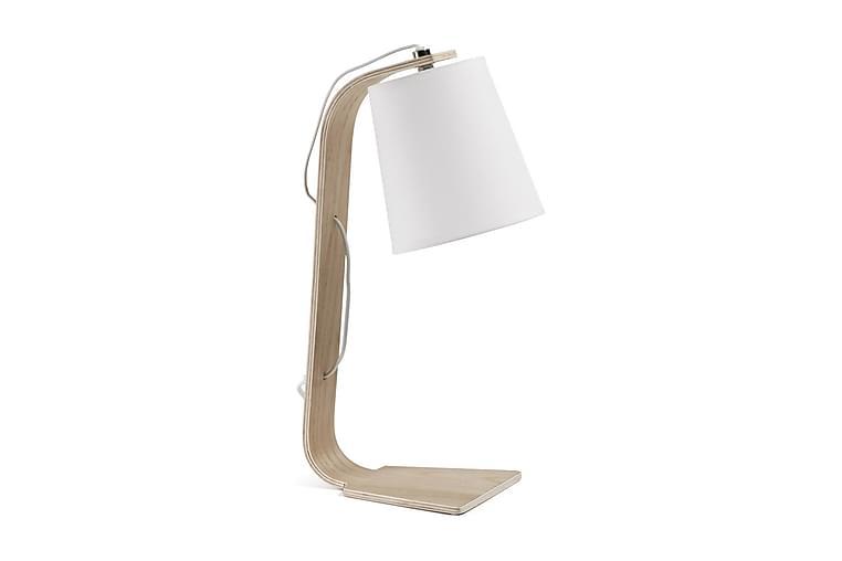 Sänglampa Bord Percy 20/16 cm - Natur|Vit - Belysning - Inomhusbelysning & Lampor - Bordslampa