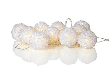 Ljusslinga Bollar Skön LED 10L Vit