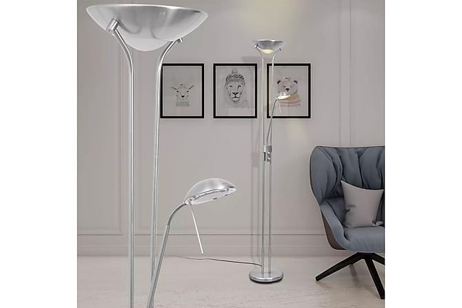 Dimbar golvlampa LED 23 W - Silver - Belysning - Inomhusbelysning & Lampor - Golvlampa