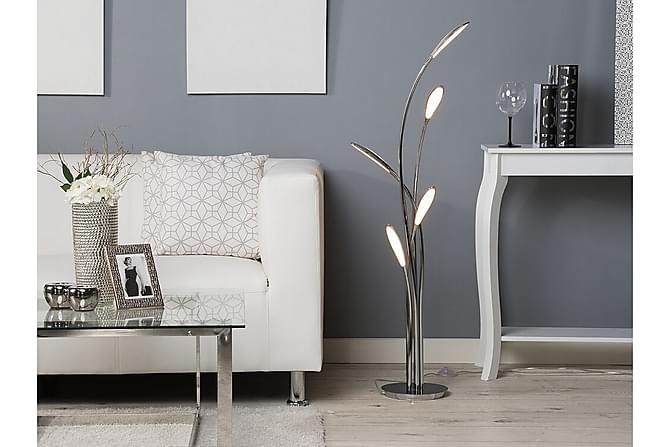 Golvlampa Arys 122 cm - Silver - Belysning - Inomhusbelysning & Lampor - Golvlampa