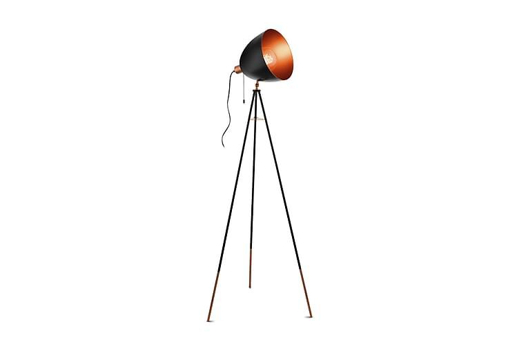 Golvlampa Chester 60 cm Svart/Koppar - Eglo - Belysning - Inomhusbelysning & Lampor - Golvlampa