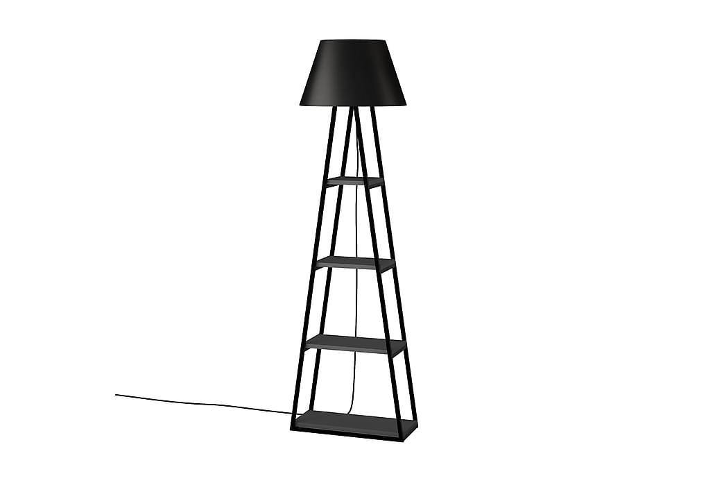 Golvlampa Lindome 45 cm - Grå Svart - Belysning - Inomhusbelysning & Lampor - Golvlampa