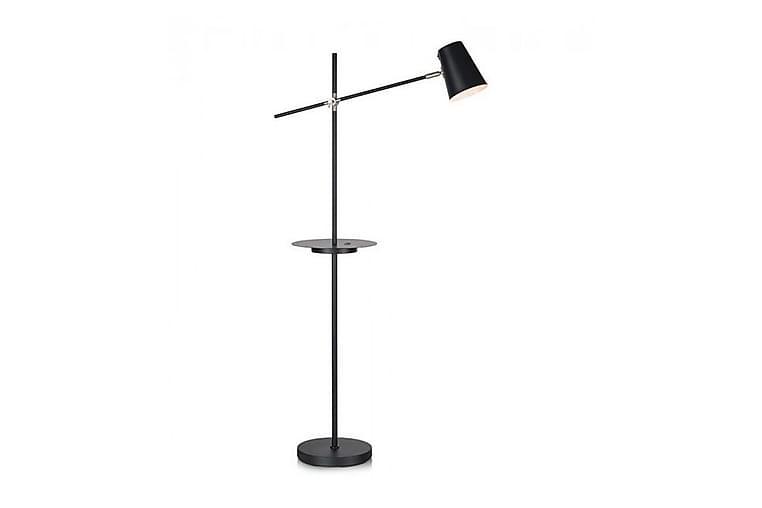 Golvlampa Linear USB - Svart - Belysning - Inomhusbelysning & Lampor - Golvlampa