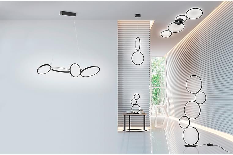 Golvlampa Rondo Svart - Trio Lighting - Belysning - Inomhusbelysning & Lampor - Golvlampa