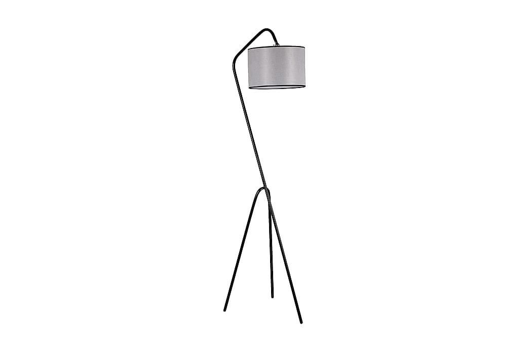 Golvlampa Saurm - Svart Grå - Belysning - Inomhusbelysning & Lampor - Golvlampa