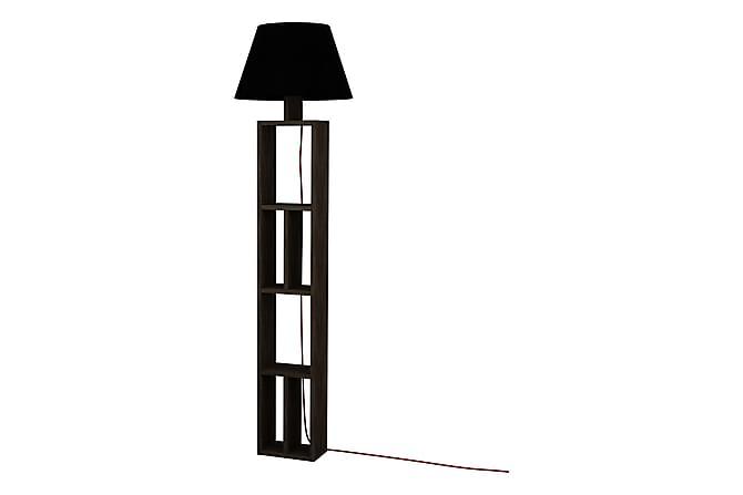 Golvlampa Singsö 45 cm - Brun/Svart - Belysning - Inomhusbelysning & Lampor - Golvlampa