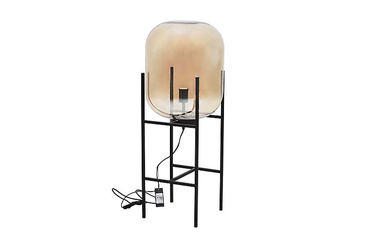 Golvlampa Staci - Svart|Champagne - Belysning - Inomhusbelysning & Lampor - Golvlampa
