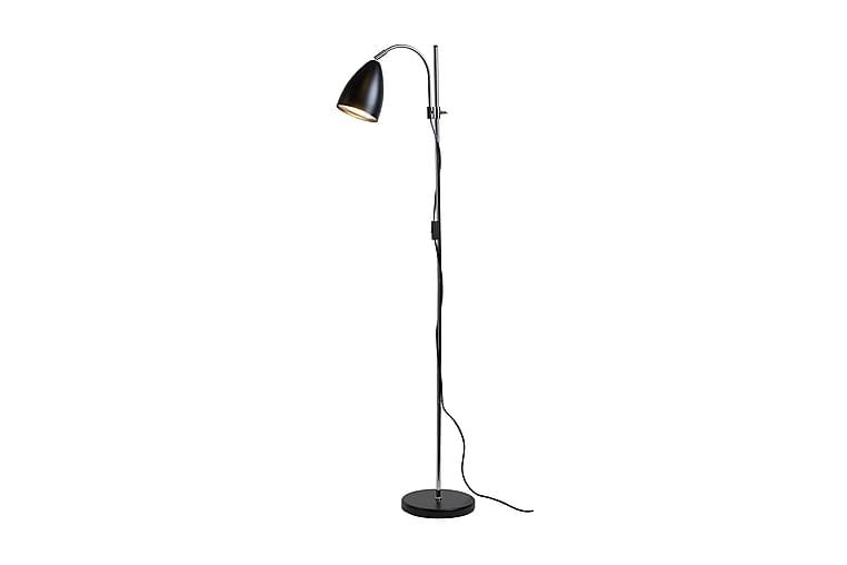 Golvlampa Sway 148 cm Svart/Krom - Belid - Belysning - Inomhusbelysning & Lampor - Golvlampa