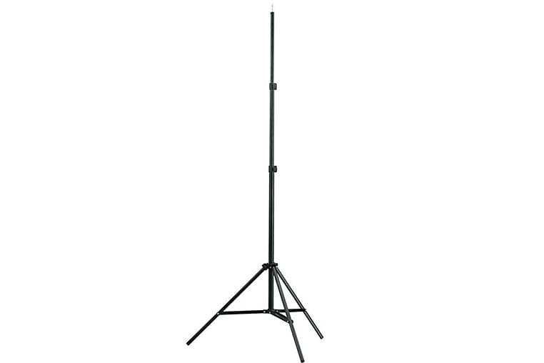 Ljusstativ höjd 78-210 cm - Svart - Belysning - Inomhusbelysning & Lampor - Golvlampa