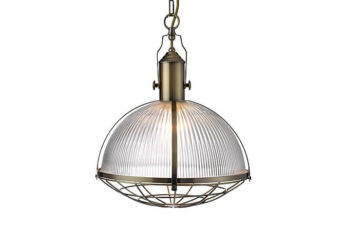 Pendellampa Industrial 1L Mässing/Glas - Searchlight - Belysning - Inomhusbelysning & Lampor - Taklampa