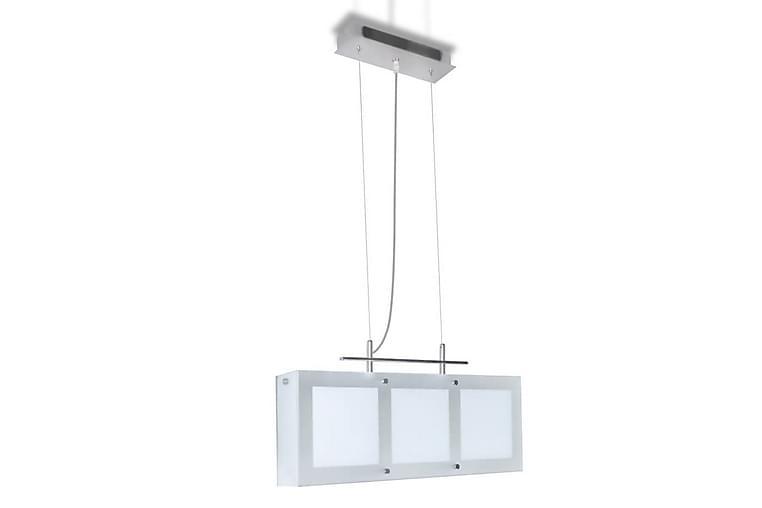 Taklampa för matsal glas 3xE14 - Vit - Belysning - Inomhusbelysning & Lampor - Taklampa