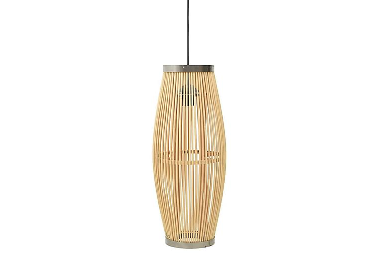 Taklampa pil 40 W 23x55 cm oval E27 - Brun - Belysning - Inomhusbelysning & Lampor - Taklampa