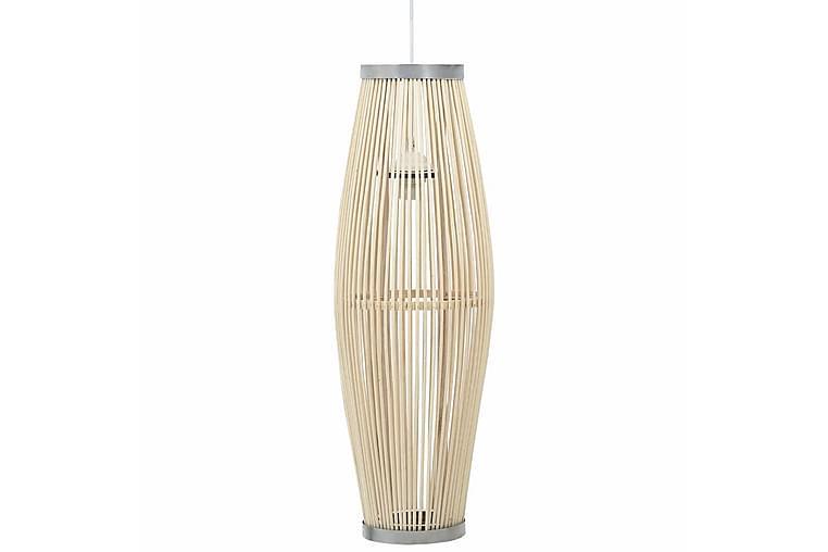 Taklampa vit pil 40 W 25x62 cm oval E27 - Vit - Belysning - Inomhusbelysning & Lampor - Taklampa