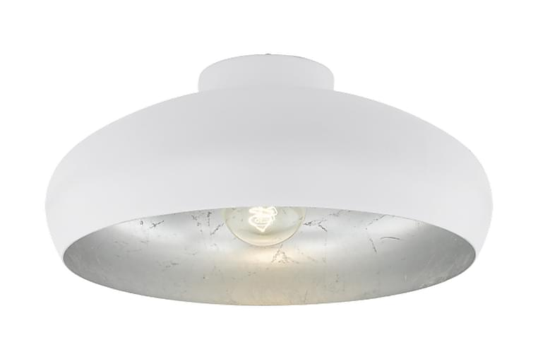 Plafond Mogano 40 cm Rund Vit/Silver - Eglo - Belysning - Inomhusbelysning & Lampor - Taklampa