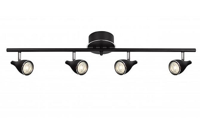 Spotlight Pollux Rund 3 Lampor Svart - Cottex - Belysning - Inomhusbelysning & Lampor - Spotlights & downlights
