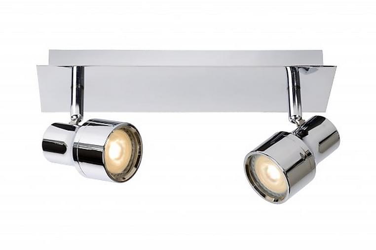 Spotlight Sirene 28 cm LED Dimbar 2 Lampor Krom/Blank - Lucide - Belysning - Inomhusbelysning & Lampor - Spotlights & downlights
