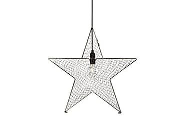 Julstjärna Bynäs 50 cm Grå