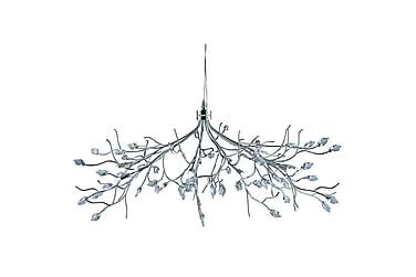 Kristallkrona Willow 78 cm 10 Lampor Krom/Blank