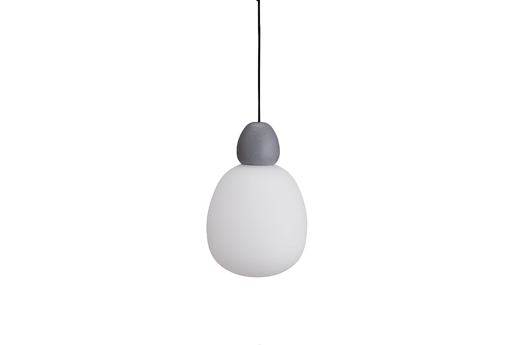 Pendellampa Buddy Betongstruktur/Opal Glas - Belid - Belysning - Inomhusbelysning & Lampor - Taklampa