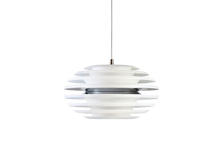 Pendellampa Ellipse 40 cm Matt Vit/Krom - Belid - Belysning - Inomhusbelysning & Lampor - Taklampa