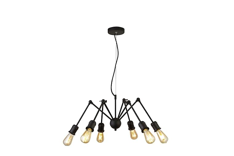Pendellampa Mantis 6L Matt Svart - Searchlight - Belysning - Inomhusbelysning & Lampor - Taklampa