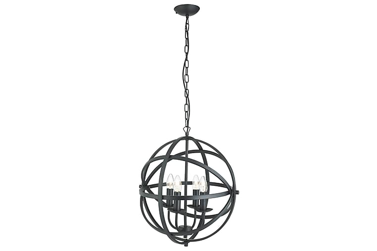Pendellampa Orbit 46 cm Rund Dimbar 4 Lampor Svart - Searchlight - Belysning - Inomhusbelysning & Lampor - Taklampa