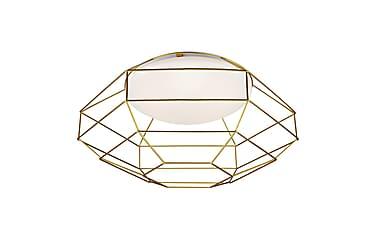 Plafond Nest Vit/Guld