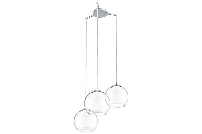 Taklampa Bolsano 3L Krom/Klar/Glas/Satin - Eglo - Belysning - Inomhusbelysning & Lampor - Taklampa
