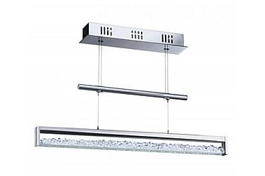 Taklampa Cardito 70 cm LED m Dimmer Krom/Blank