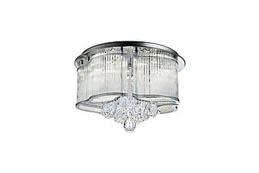 Taklampa Mela LED Crystal Drops