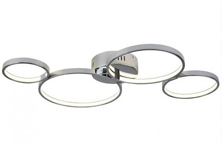 Taklampa Solexa 74 cm LED Dimbar Krom/Blank - Searchlight - Belysning - Inomhusbelysning & Lampor - Taklampa